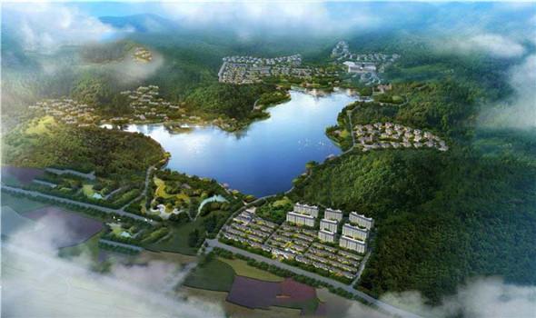 宁波湖山行云